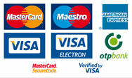 A biosampon.hu által elfogadott bankkártyák