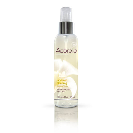 Acorelle Bio testpermet, Elragadó Vanília (Megnyugtat), 100 ml