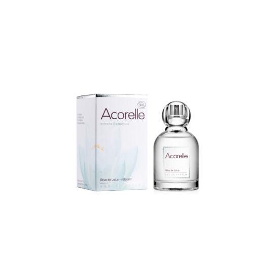 Acorelle Bio Eau De Parfum, Lótusz Álom (Relaxáló), 50 ml
