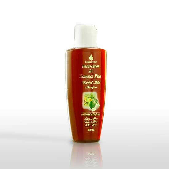 Chuleevandevi A5 prémium sampon zsíros, korpás viszkető fejbőrre, hajhullásra, 100 ml