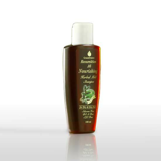 Chuleevandevi A6 prémium sampon egészségtelen, gyenge hajra, hajhullásra, 100 ml