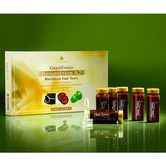 Chuleevandevi A2 prémium gyógynövényes hajnövesztő tonik hajhullásra, demodexre , 6×15 ml