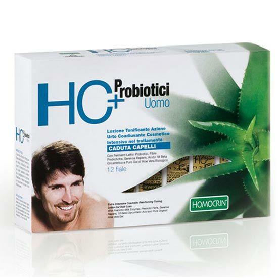 HC+ Hajhullás elleni tonik, férfi, 12×7 ml