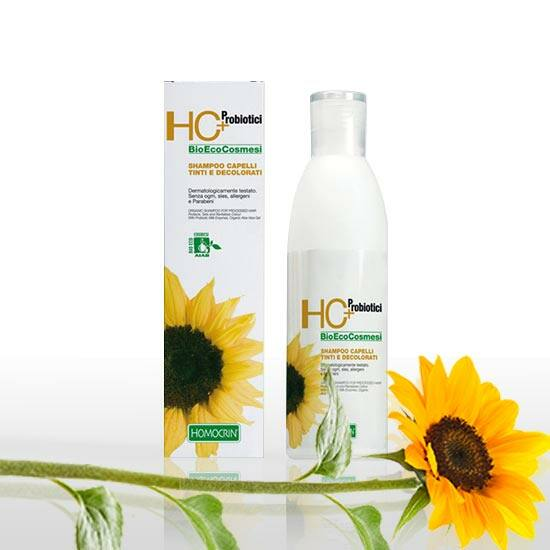 HC+ Organikus sampon kezelt hajra, 250 ml