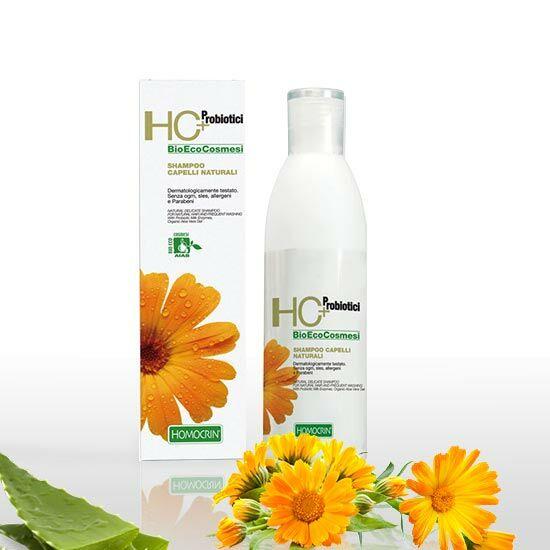 HC+ 505 Organikus kímélő sampon természetes hajra, gyakori hajmosásra, 250 ml
