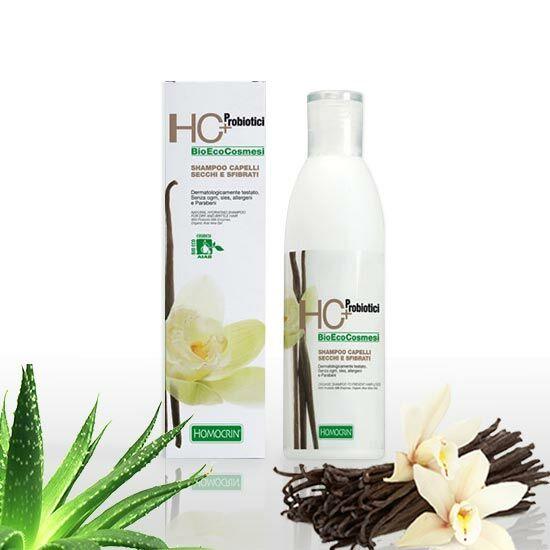 HC+ 520 Természetes hidratáló sampon száraz és töredezett hajra, 250