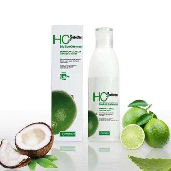 HC+ 515 Természetes kiegyensúlyozó sampon normál és zsíros hajra, 250