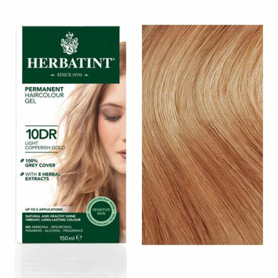Herbatint 10DR Világos réz-arany hajfesték, 150 ml