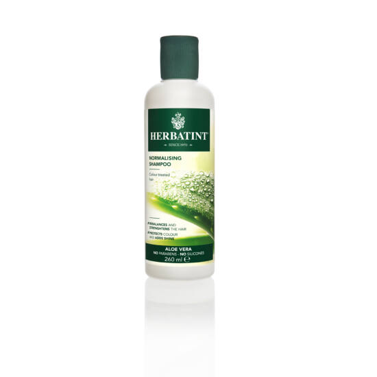 Herbatint Aloe Vera sampon festett hajra