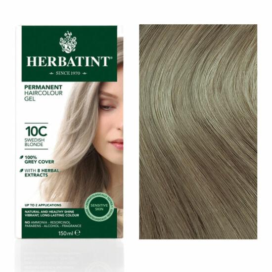 Herbatint 10C Svédszőke (hamvas) hajfesték, 150 ml