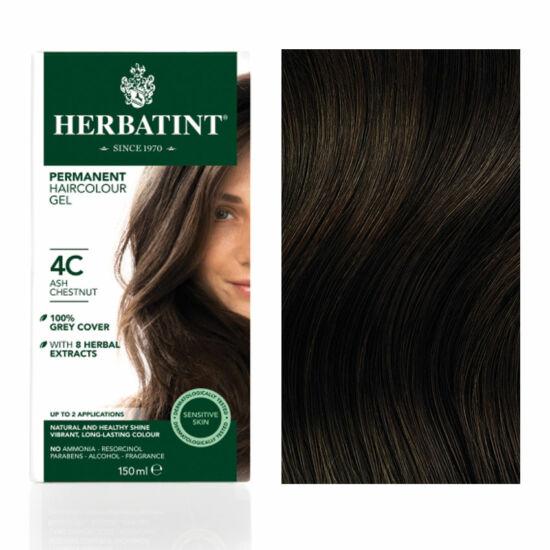 Herbatint 4C Hamvas gesztenye hajfesték, 135 ml