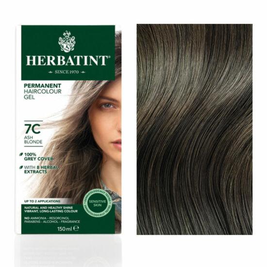 Herbatint 7C Hamvas szőke hajfesték, 150 ml