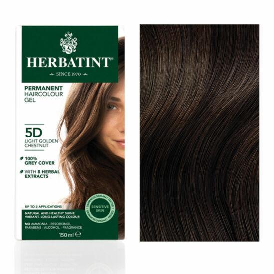 SÉRÜLT Herbatint 5D Arany világos gesztenye hajfesték, 135 ml