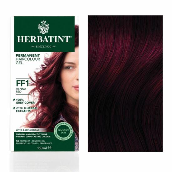 Herbatint FF1 Fashion Henna vörös hajfesték, 135 ml