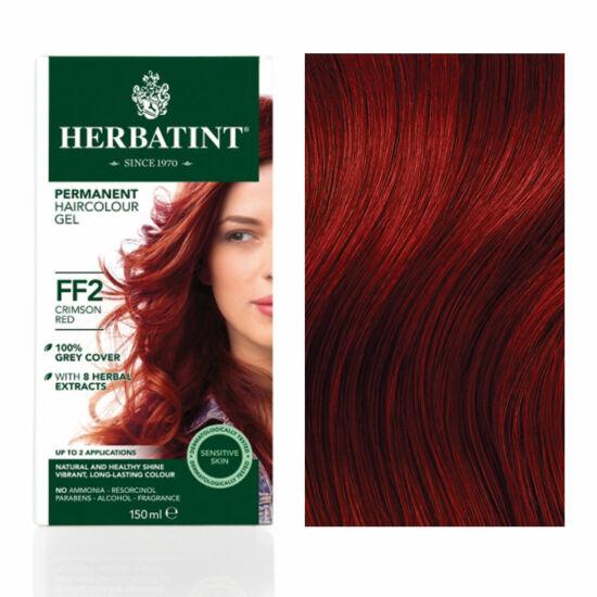Herbatint FF2 Fashion Karmazsinvörös hajfesték, 135 ml