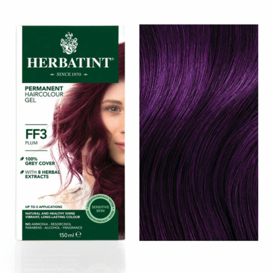 Herbatint FF3 Fashion Szilva hajfesték, 135 ml