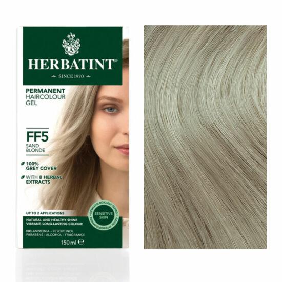 Herbatint FF5 Fashion Homokszőke hajfesték, 135 ml