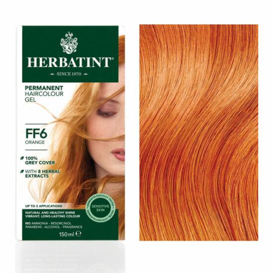 SÉRÜLT Herbatint FF6 Fashion Narancs hajfesték, 135 ml