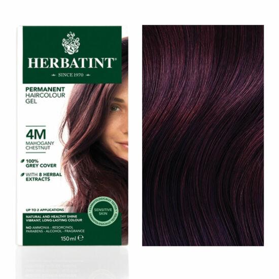 Herbatint 4M Mahagóni gesztenye hajfesték, 135 ml