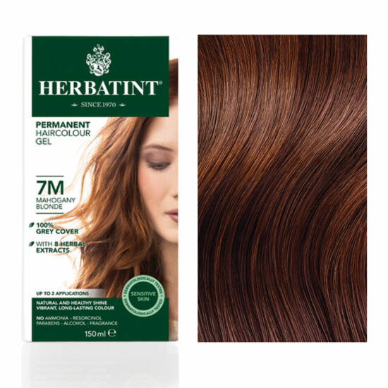 Herbatint 7M Mahagóni szőke hajfesték, 135 ml