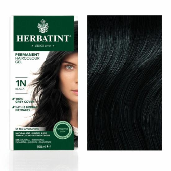 Herbatint 1N Fekete hajfesték, 135 ml
