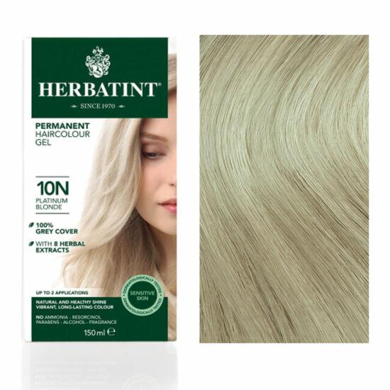Herbatint 10N Platinaszőke hajfesték, 135 ml