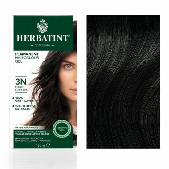 Herbatint 3N Sötét gesztenye hajfesték, 135 ml