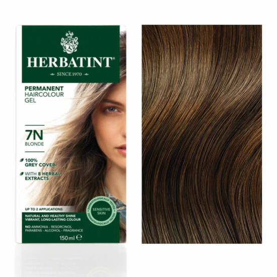 Herbatint 7N Szőke hajfesték, 135 ml