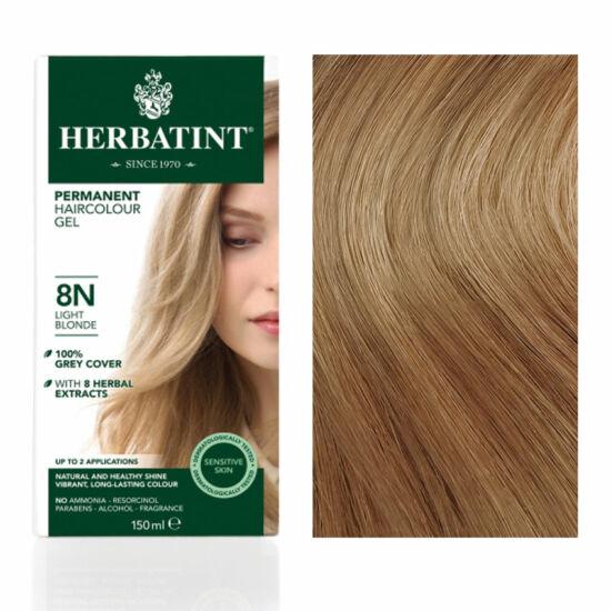 Herbatint 8N Világos szőke hajfesték, 150 ml