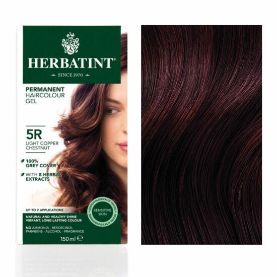 Herbatint 5R Világos réz gesztenye hajfesték, 135 ml