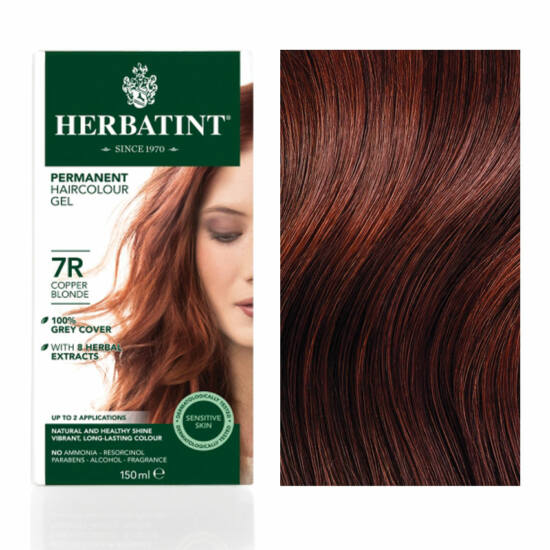 Herbatint 7R Réz szőke hajfesték, 135 ml