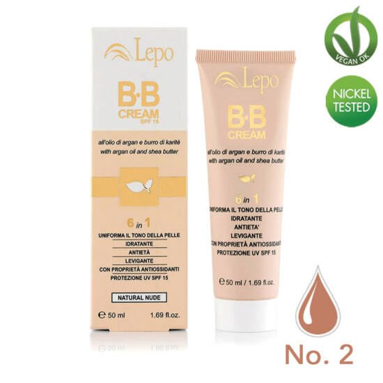 Lepo 140 BB krém (6 in 1), No. 2 (Medium Dark), 50 ml
