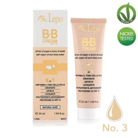 Lepo 140 BB krém (6 in 1), No. 3 (Nude), 50 ml