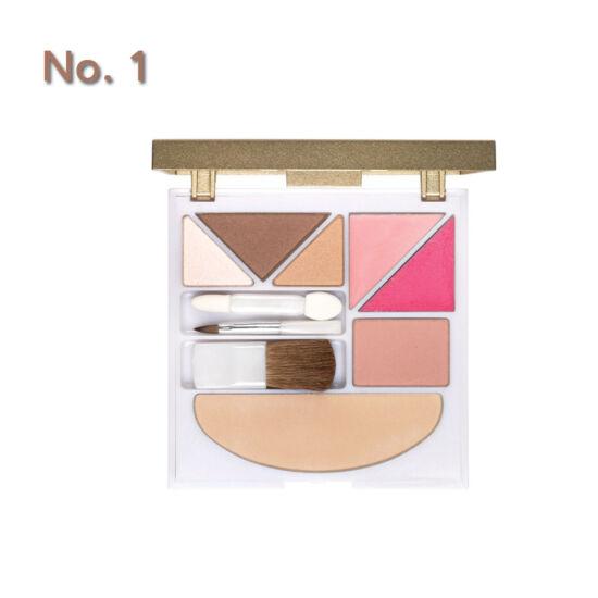 Lepo 524 ásványi Make-Up paletta No. 1, barna-rózsa