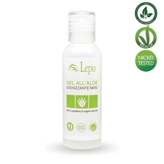 Lepo 922 Natúr, vegán fertőtlenítő hatású gél aloe verával, 60 ml