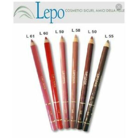 Lepo 608 Ajakkontúr ceruza, No L60 Intenzív piros