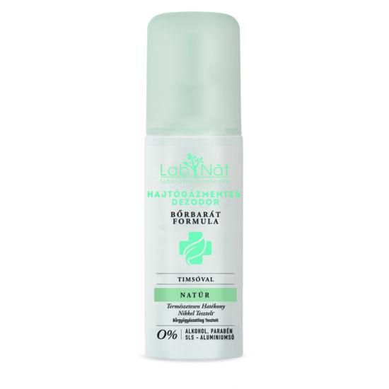 Labnat Bőrbarát (Medical) természetes dezodor, Natúr (illatmentes), 100 ml