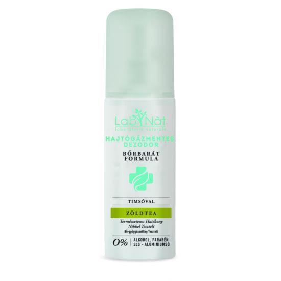 Labnat Bőrbarát (Medical) természetes dezodor, Zöldtea, 100 ml