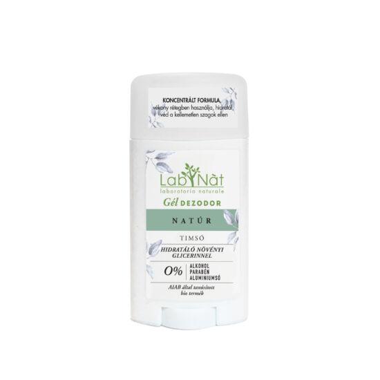 Labnatù bio tanúsított stift (gél dezodor), Natúr (illatmentes), 50 ml