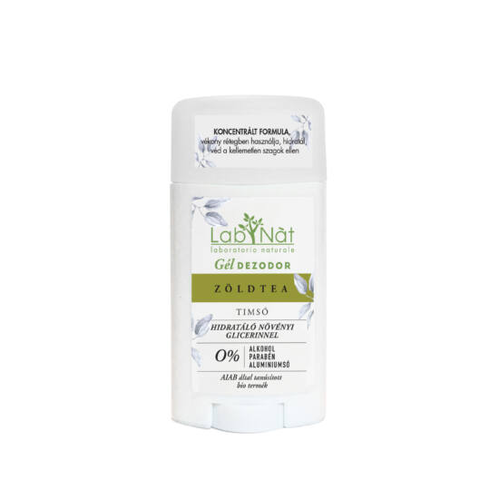 Labnatù bio tanúsított stift (gél dezodor), Zöldtea, 50 ml