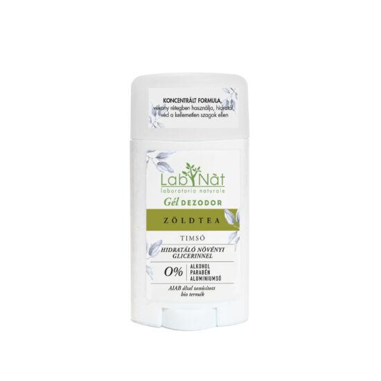 Labnat bio tanúsított stift (gél dezodor), Zöldtea, 50 ml