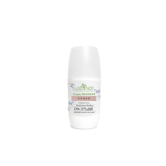 Labnatù bio tanúsított roll on dezodor, Púder, 75 ml