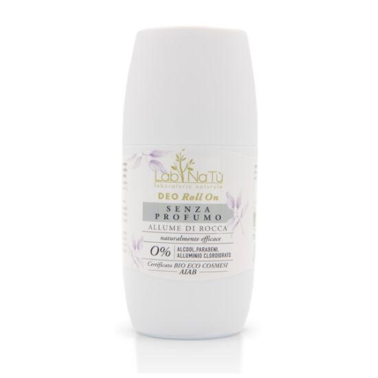 Labnatù bio tanúsított roll on dezodor, Natúr (illatmentes), 75 ml