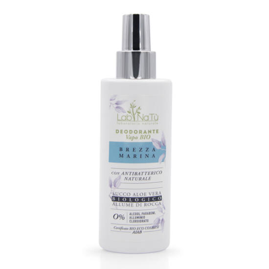 Labnatù bio tanúsított spray dezodor (Vapo), Tengeri szellő (férfias illat), 100 ml