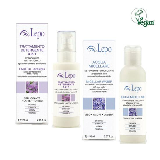 Lepo arctisztító csomag (115) 3in1 arclemosó & (116) micellás víz