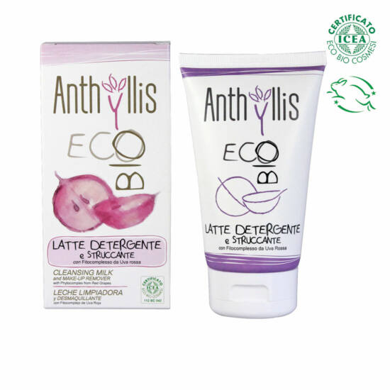 Anthyllis 1798 BIO tanúsított arc- és sminklemosó tej, 150 ml