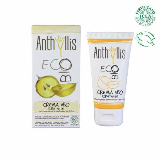 Anthyllis 1748 BIO tanúsított hidratáló arckrém, 50 ml