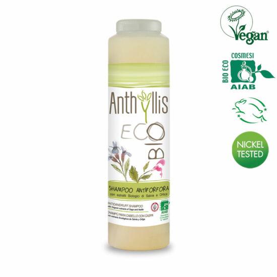 Anthyllis BIO tanúsított sampon korpásodás ellen, 250 ml